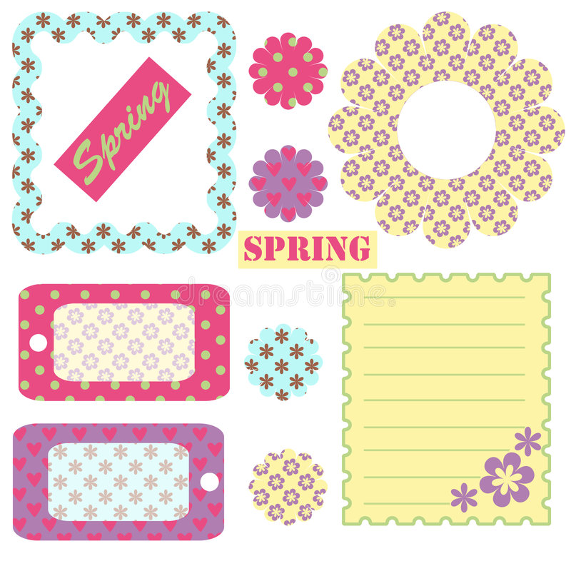 Download Spring - accessory sheet stock illustration. Image of ornamentation - 8502635