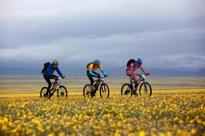 Download Spring Adventure Mountain Bike Competition Editorial Photography - Image: 18165692