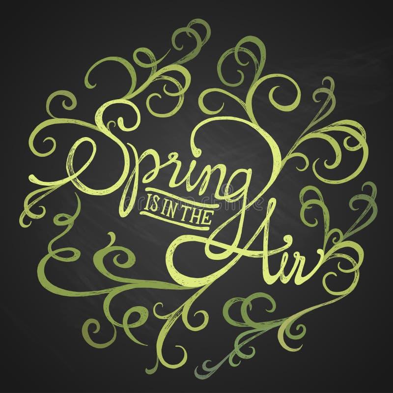 Spring air - Floristic circle royalty free stock photos