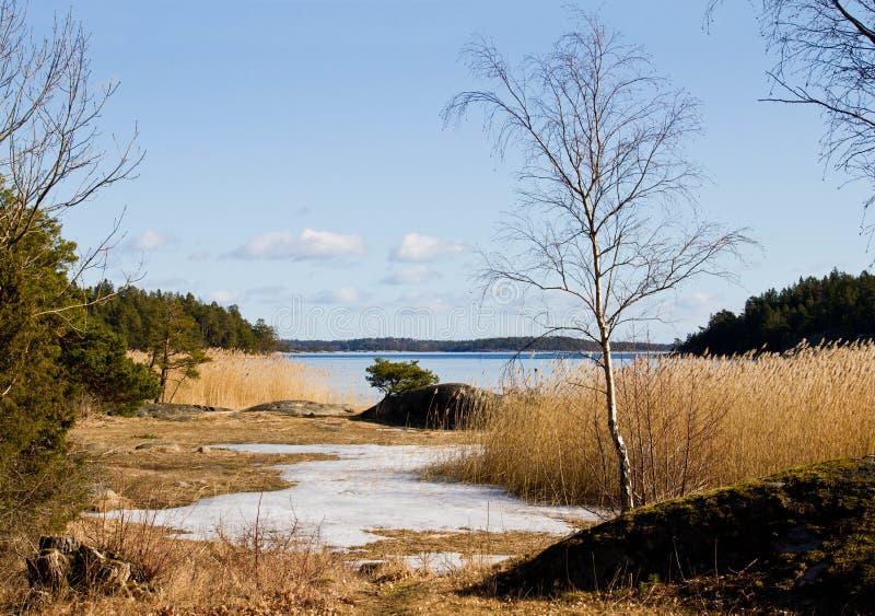 Spring in archipelago.