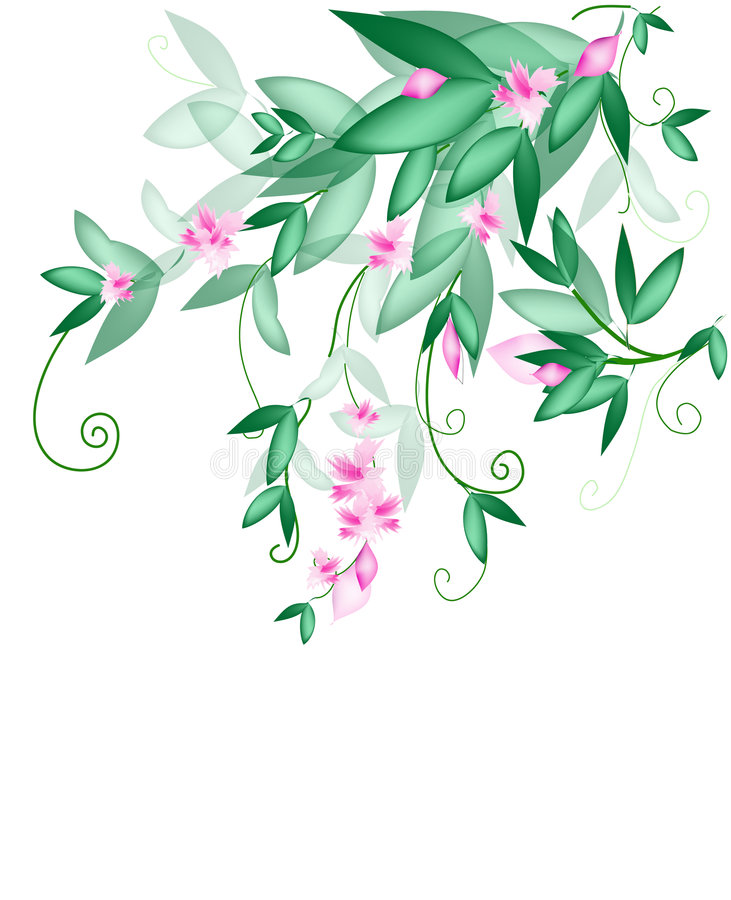 Spring awakening royalty free illustration