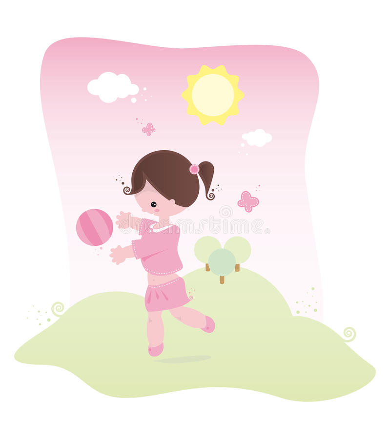 Spring Baby Pink Stock Photo