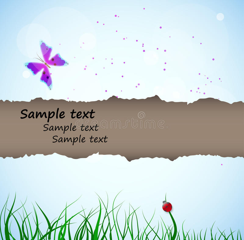 Download Spring background stock image. Image of butterfly, decoration - 23934189