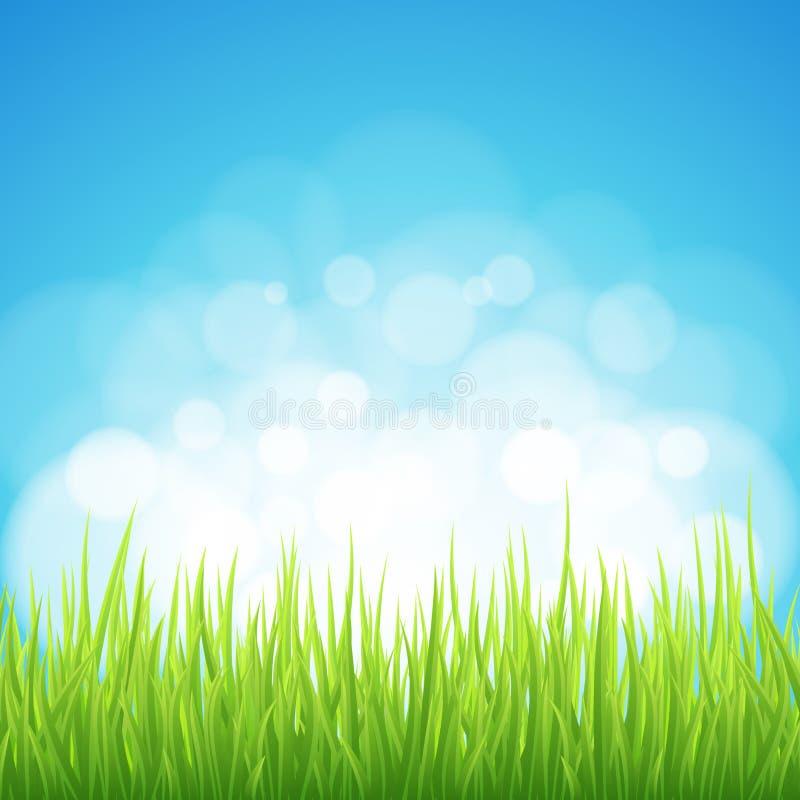 Spring background stock illustration