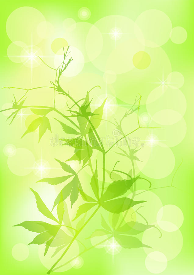 Spring background. EPS 10 vector illustration