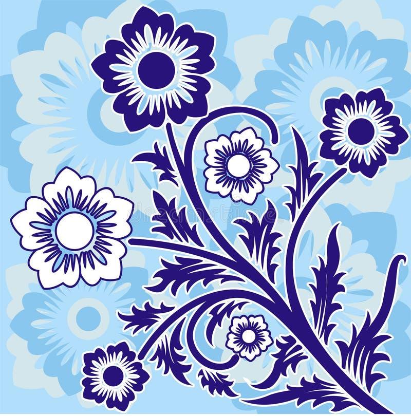 Spring background, vector stock illustration