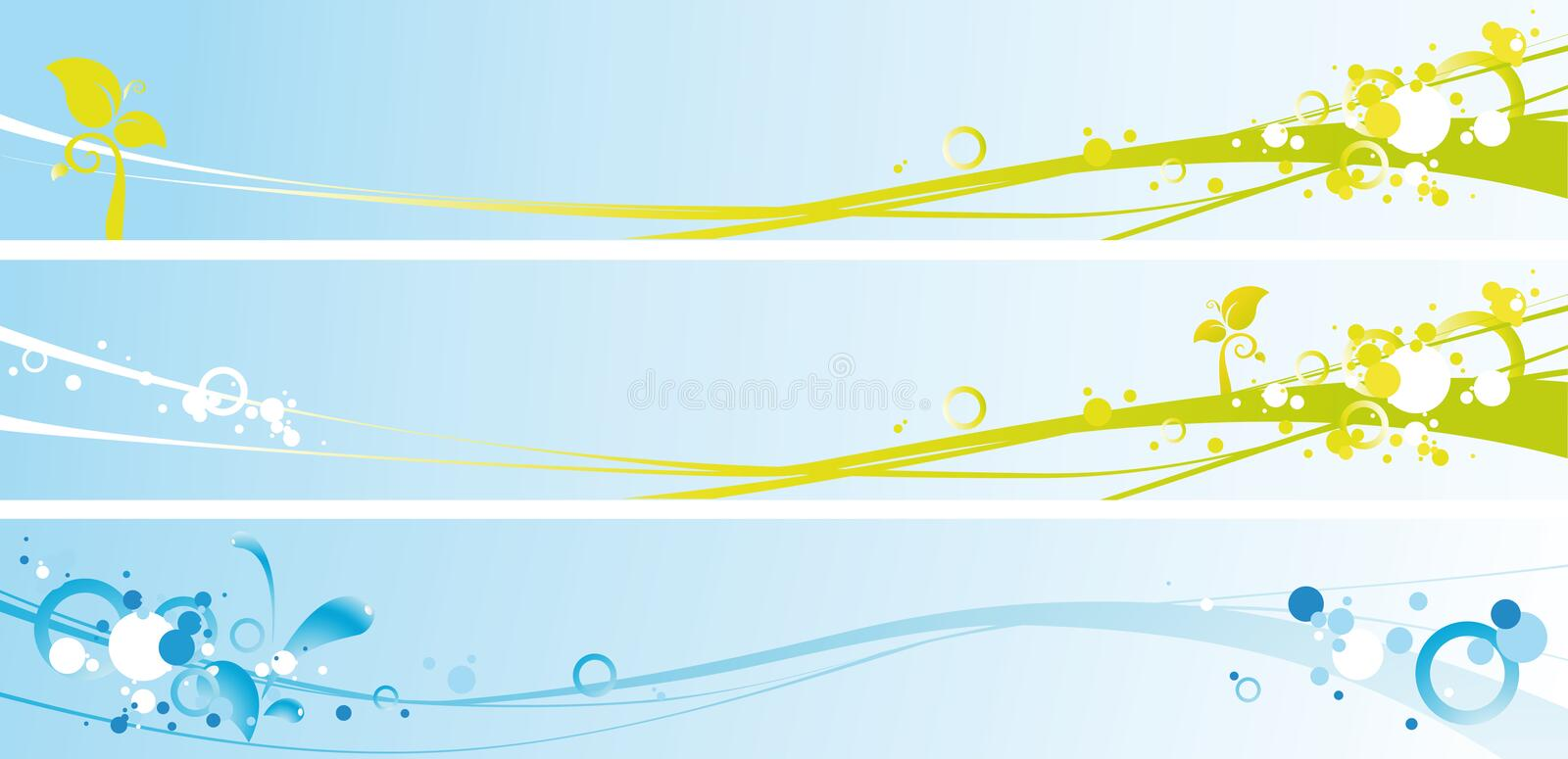 Download Spring Banners Stock Photo - Image: 12259410