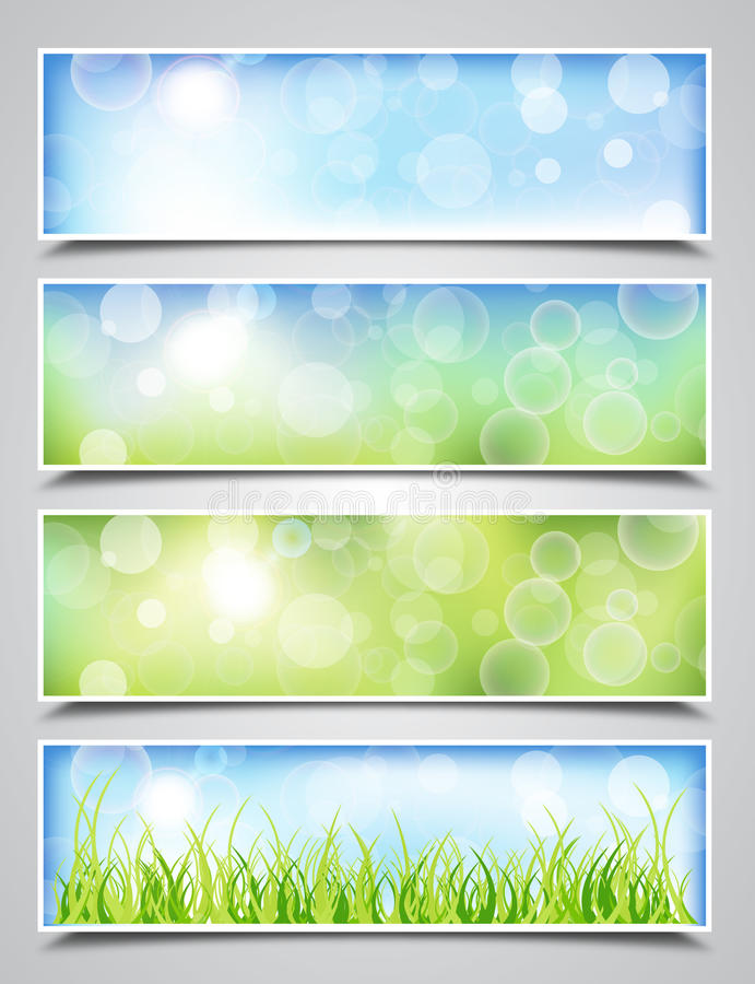 Download Spring Banners stock vector. Illustration of graphic - 24407637
