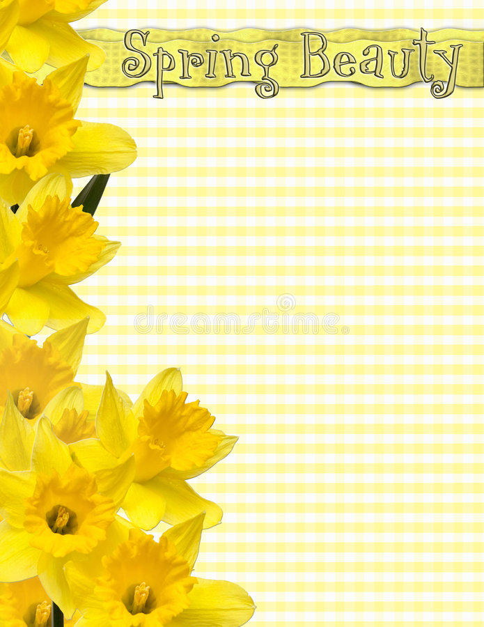 Free Spring Beauty Page Stock Photos - 1941433
