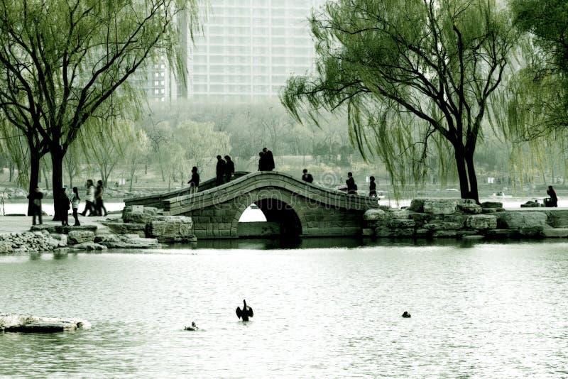 Spring in Beijing stock photo