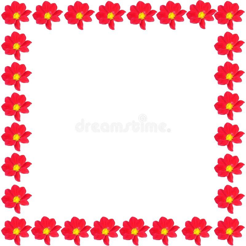 Spring border royalty free stock images