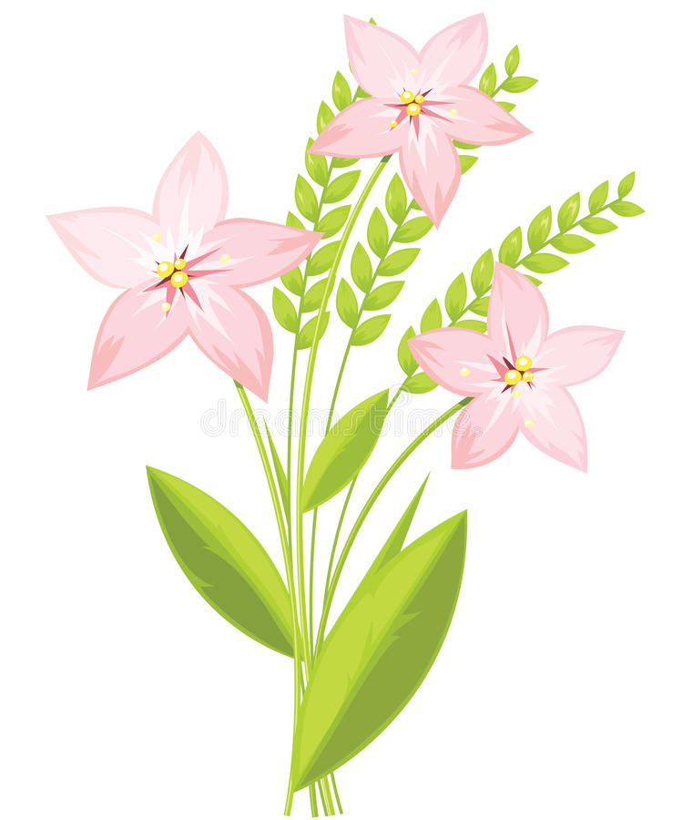 Download Spring bouquet stock vector. Image of petal, blossom - 24637526