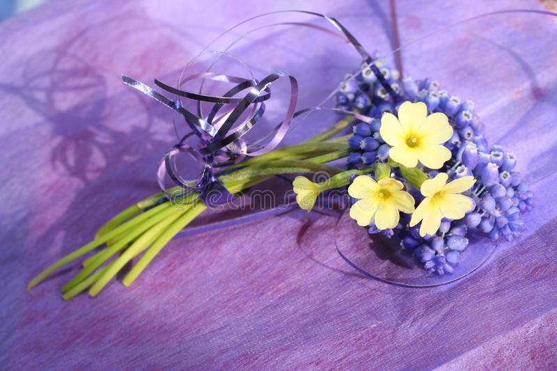 Download Spring bouquet in lilac stock photo. Image of violet, summer - 8165982