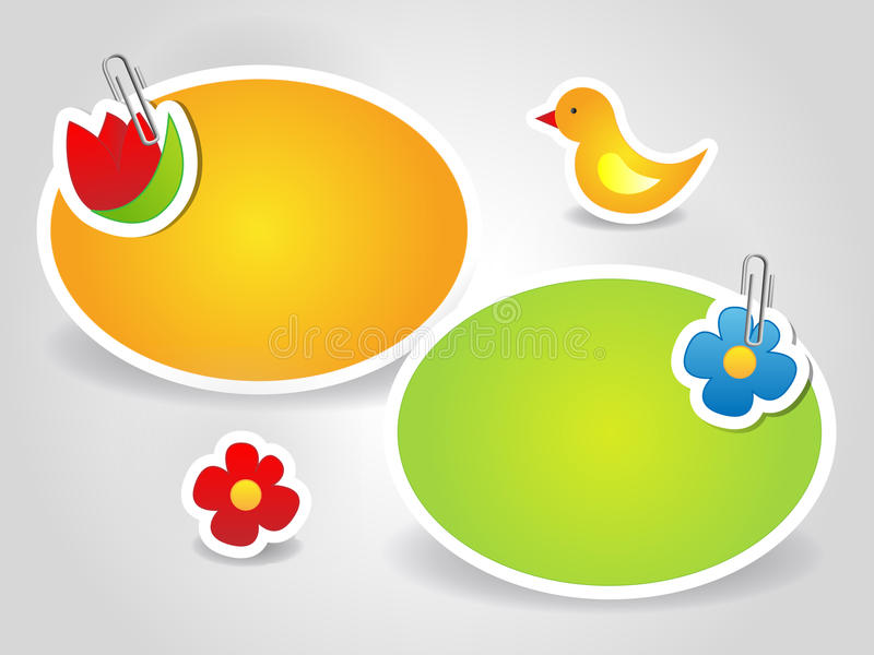 Spring Card Royalty Free Stock Image
