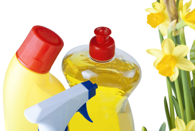 Download Spring Cleaning Products stock photo. Image of spray - 14471028