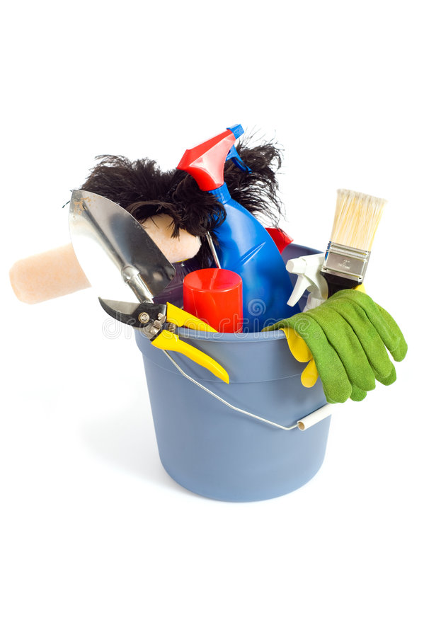 Download Spring Cleaning Supplies Stock Images - Image: 5114974