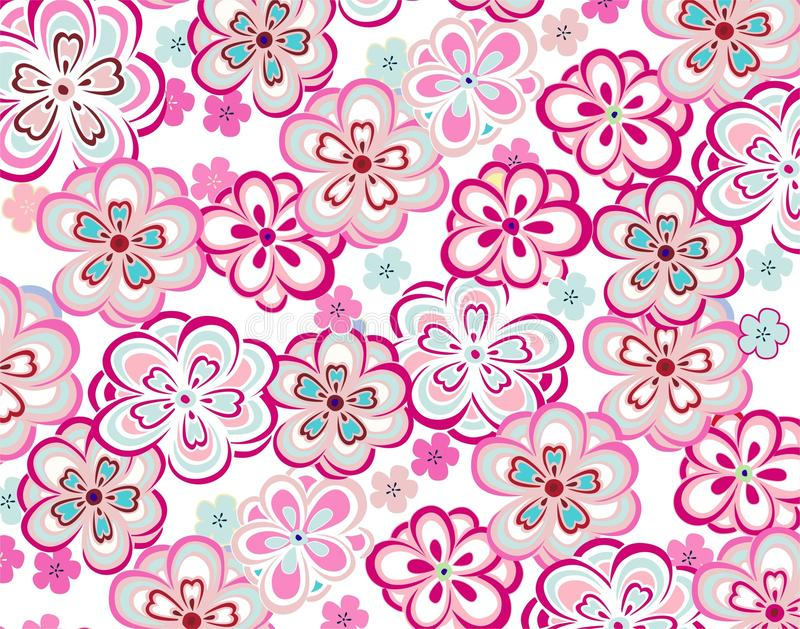Download Spring Colorful Seamless Floral Pattern Stock Vector - Illustration: 33150645