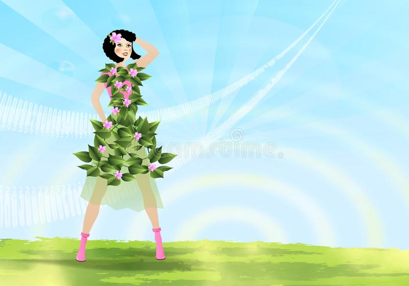 Download Spring concept, cdr vector stock vector. Illustration of spring - 20976982
