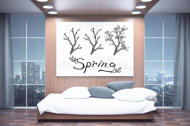 Spring concept royalty free illustration