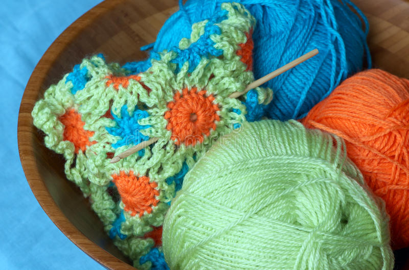 Download Spring crochet stock photo. Image of green, knitting - 31215490