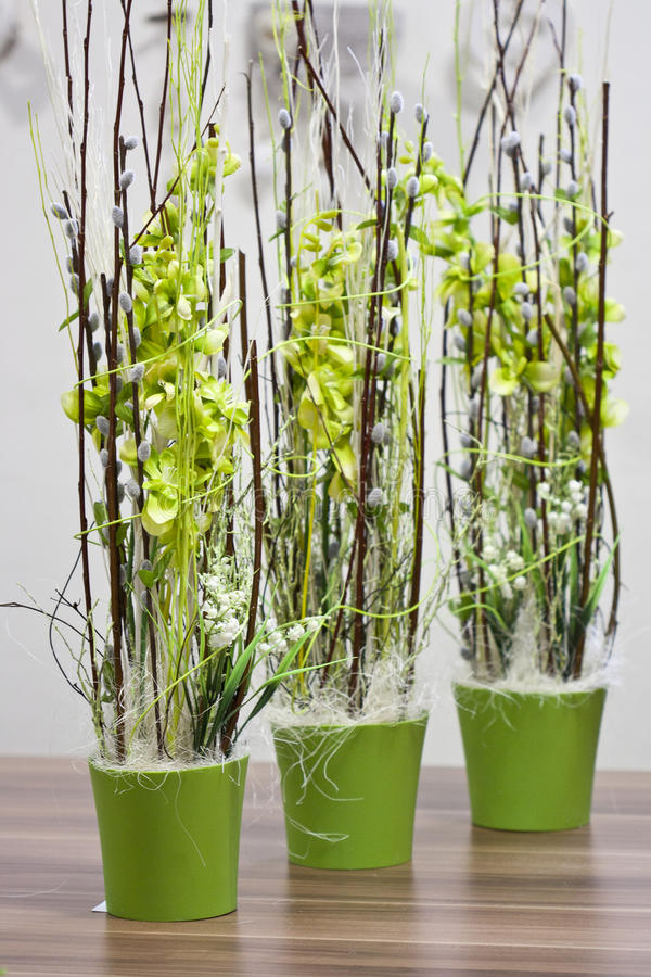 Spring decoration stock image