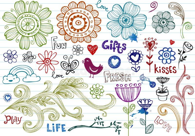 Download Spring Doodles stock illustration. Image of artistic - 13942188