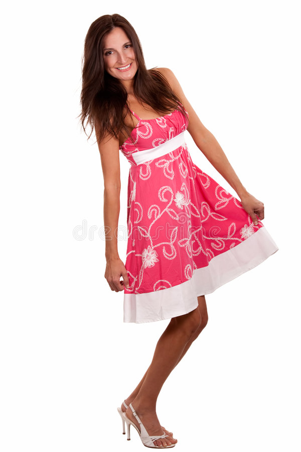 Spring dress royalty free stock photos