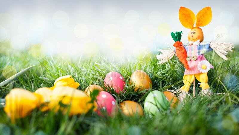 Spring and Easter background royalty free stock photos
