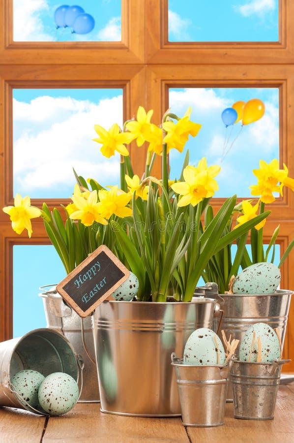 Spring Easter Window