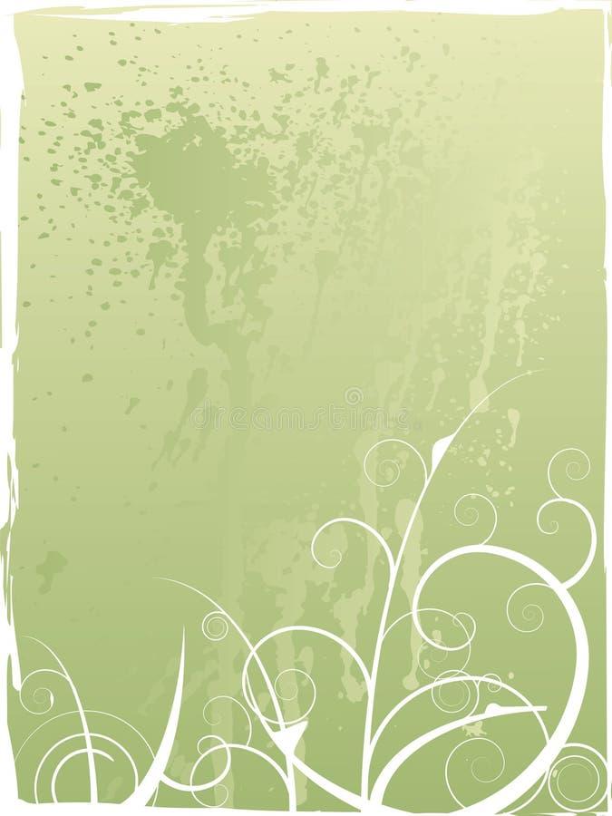 Spring explosion stock illustration