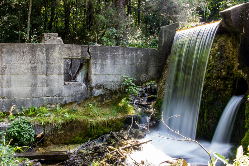 Spring Falls stock photography