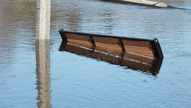Spring Flood in Huntsville, Ontario, 2013 royalty free stock photos