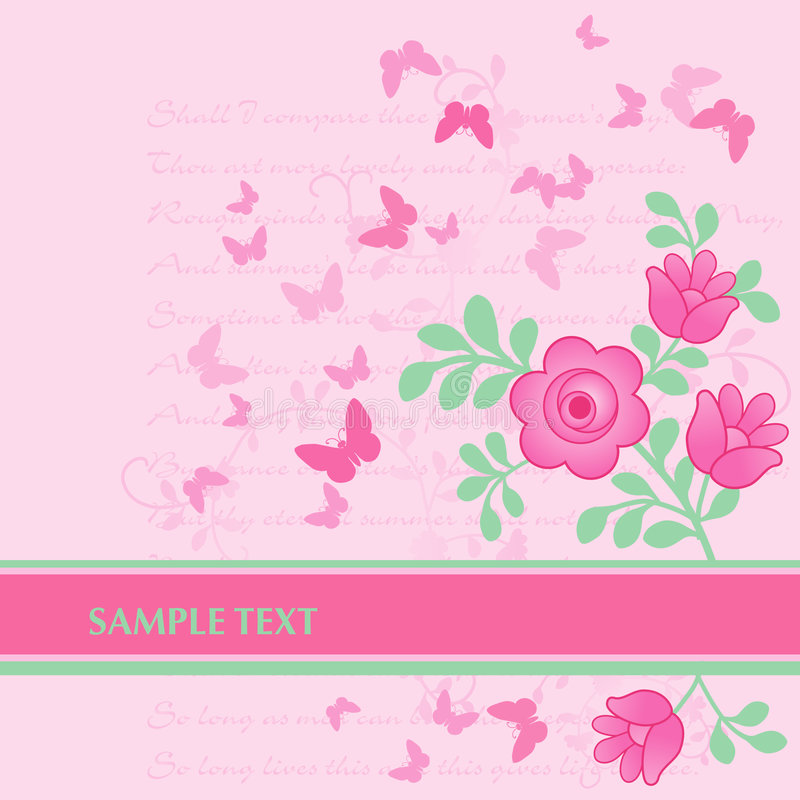Download Spring Floral banner stock vector. Illustration of card - 5358645
