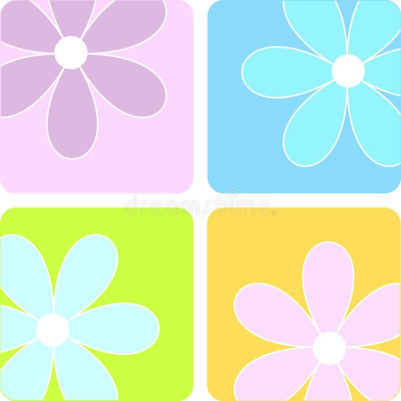 Spring flowers stock illustration