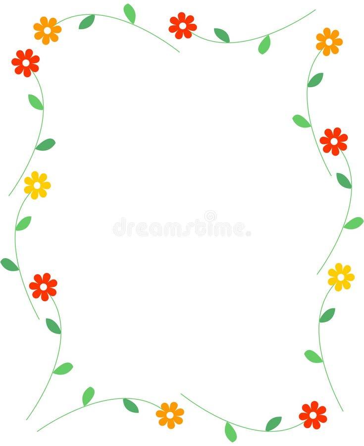 Spring flowers border stock vector illustration of background 8015981 spring flowers border mightylinksfo
