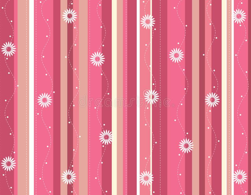 Spring flowers stripped background stock photos