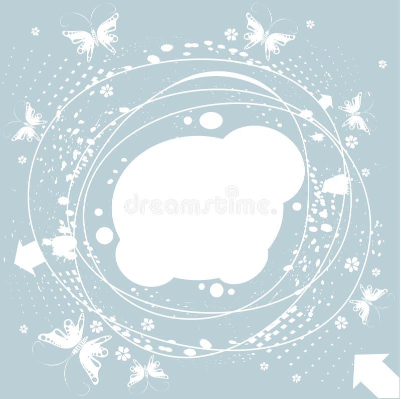 Download Spring frame stock vector. Image of grunge, background - 8991901