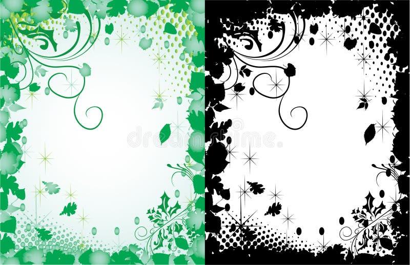 Download Spring frames stock vector. Image of beauty, leafy, elegance - 12775198