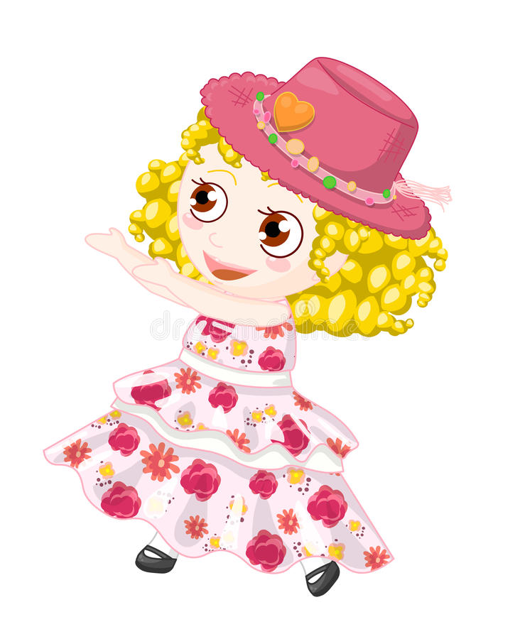 Spring girl royalty free stock photography
