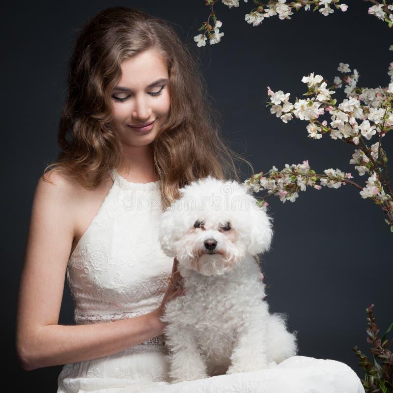 Spring Girl Stock Photo