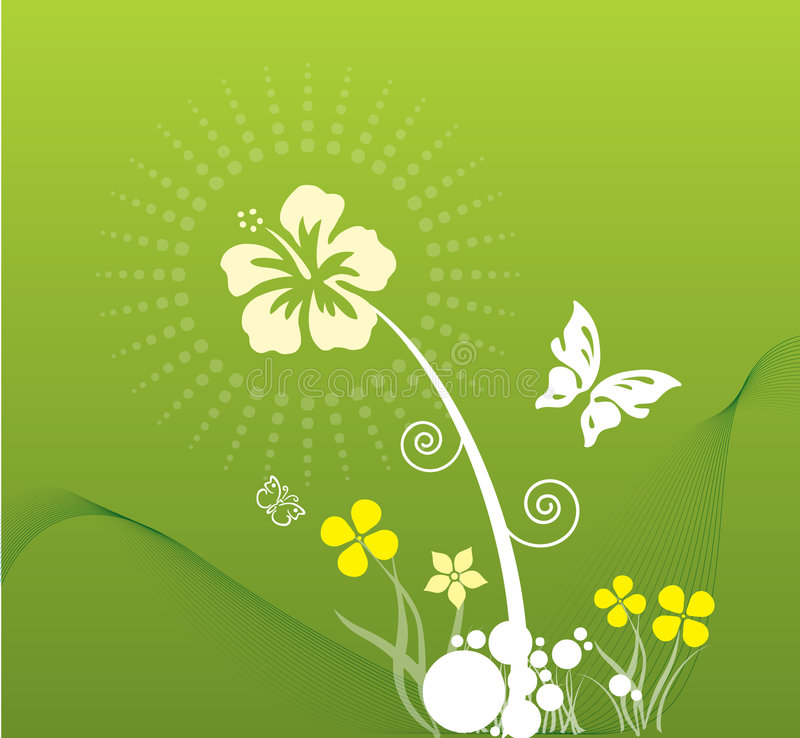 Spring in green royalty free stock image