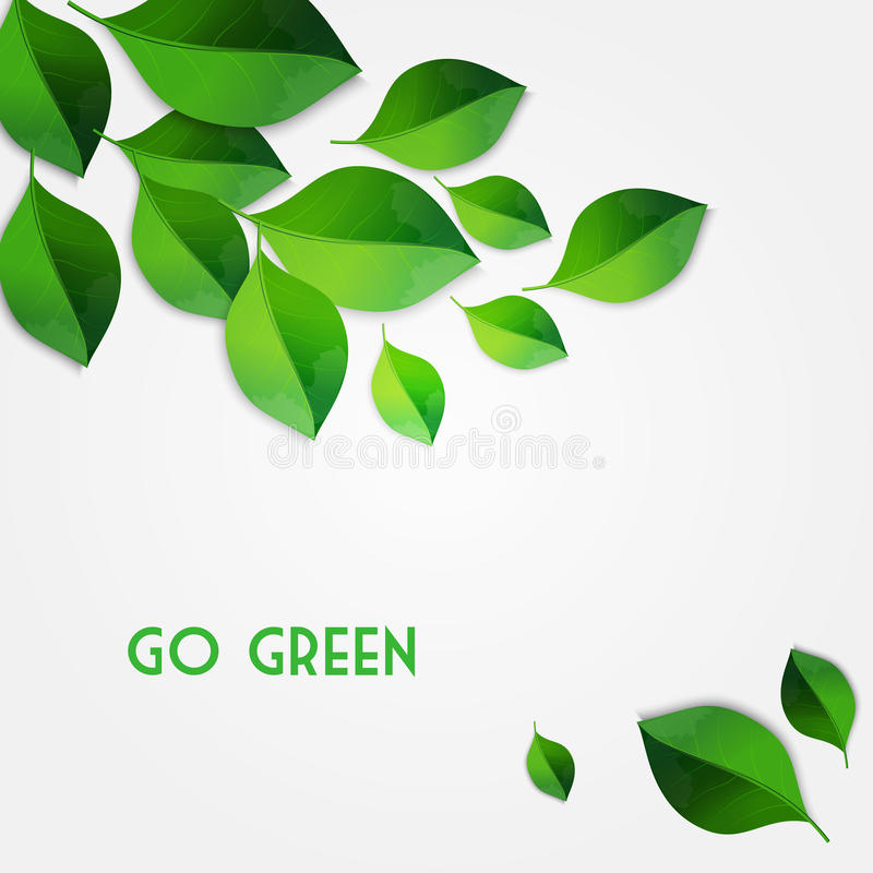 Free Spring Green Leaves Background. Go Green Concept Stock Photography - 50435212