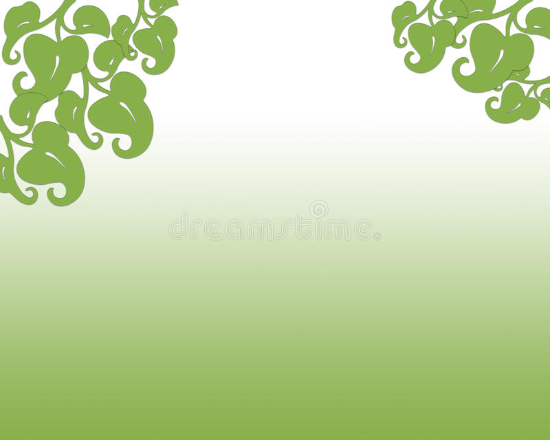 Spring 2017 Greenery abstract background with leaves stock image