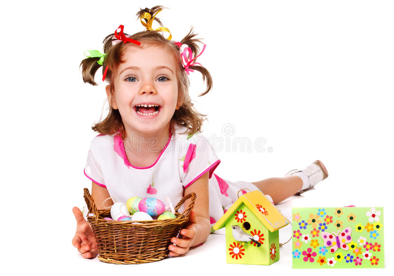 Download Spring greeting stock photo. Image of easter, nest, preschool - 23459288