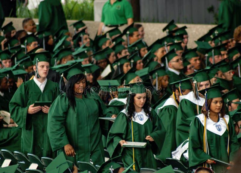 Spring High School Graduation Editorial Image - Image of happy, grad ...