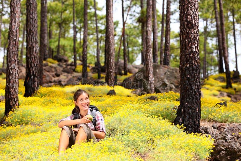 Download Spring Hiking Royalty Free Stock Photos - Image: 23952368