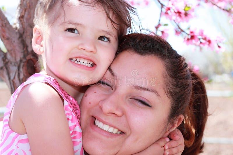 A Spring Hug stock photography