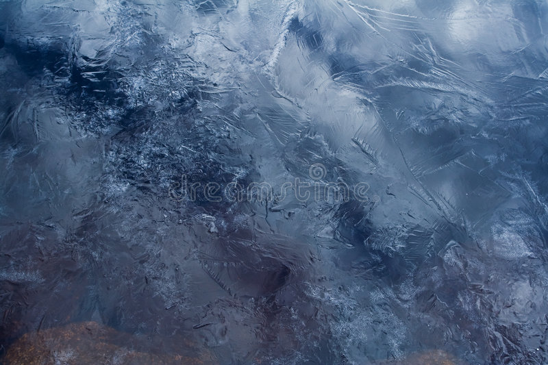 Spring ice background royalty free stock photography