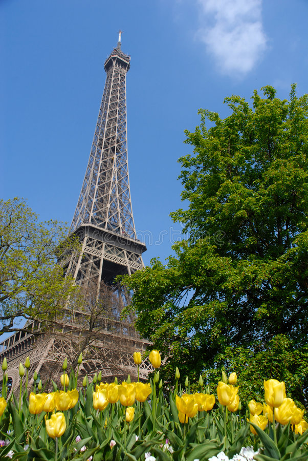 Free Spring In Paris, Eiffel Tower Stock Photos - 2263383