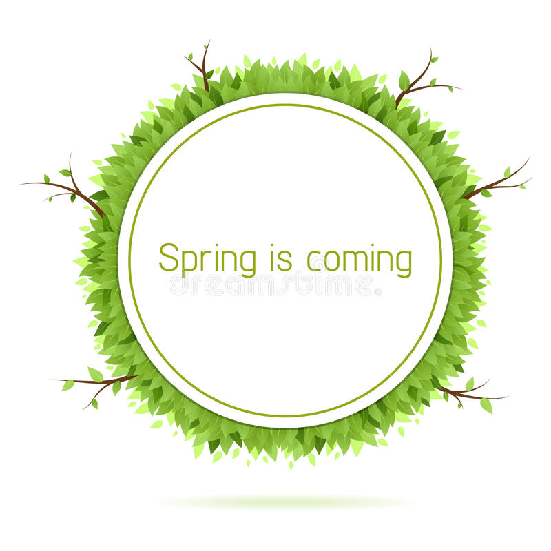 Free Spring Is Coming Stock Photography - 23324022